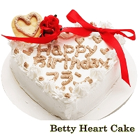 犬用ケーキBetty Heart Cake